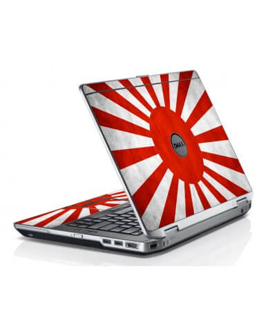 Japanese Flag Dell E6420 Laptop Skin