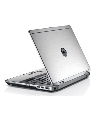 Mts #1 Textured Aluminum Dell E6420 Laptop Skin