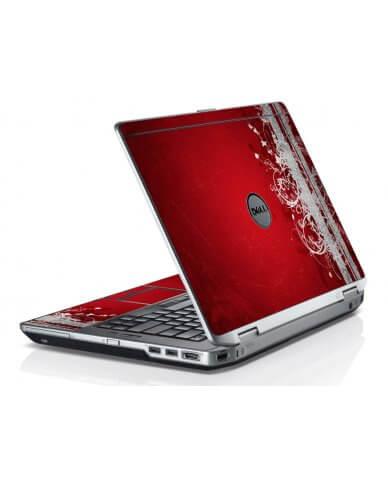 Red Grunge Dell E6430 Laptop Skin