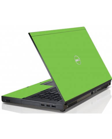 Green Dell M4600 Laptop Skin
