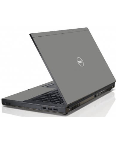 Grey/Silver Dell M4600 Laptop Skin