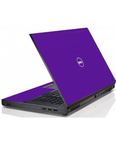 Purple Dell M4600 Laptop Skin