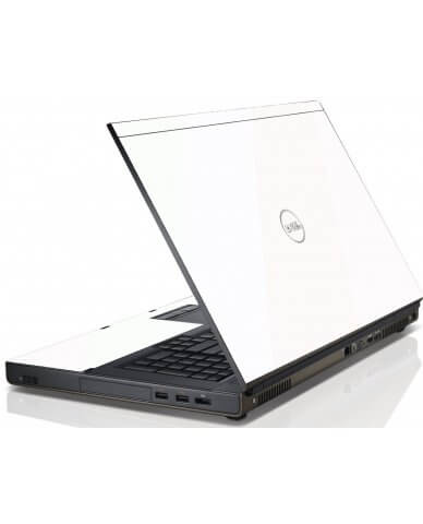 White Dell M4600 Laptop Skin