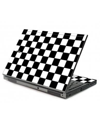 Checkered Dell M6400 Laptop Skin