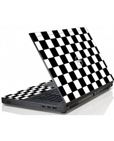 Checkered Dell M6600 Laptop Skin