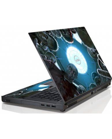 Zombie Horde Dell M6600 Laptop Skin