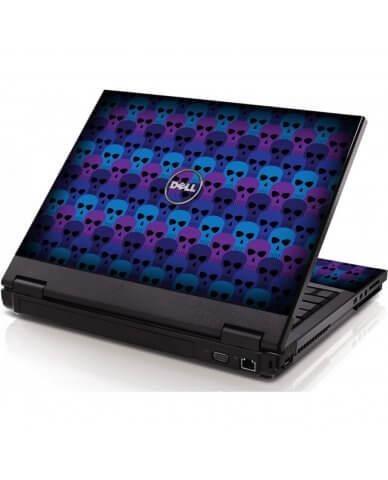 Blue Skulls Dell 1320 Laptop Skin