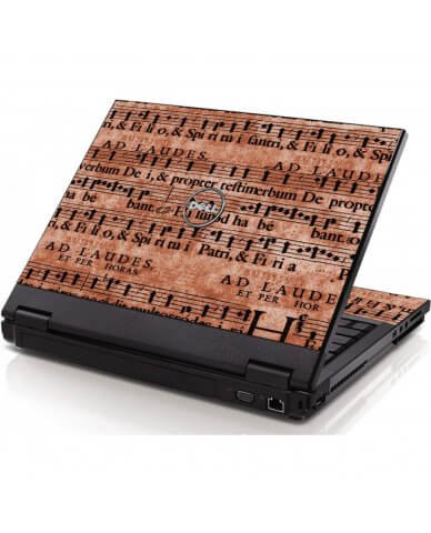 Latin Sheet Music Dell 1520 Laptop Skin