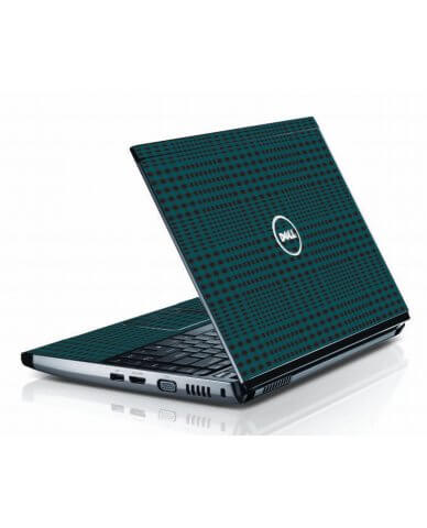 Green Flannel Dell 3500 Laptop Skin