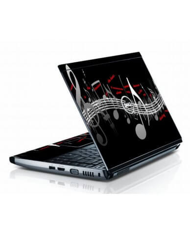 Music Notes Dell 3500 Laptop Skin