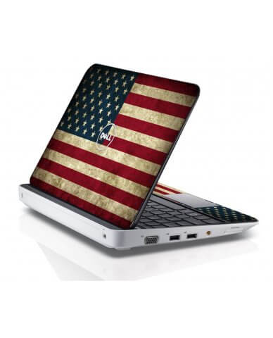 AMERICAN FLAG Dell Inspiron Mini 10 1012 Skin
