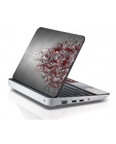 TRIBAL GRUNGE Dell Inspiron Mini 10 1012 Skin