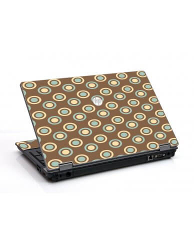 Retro Polka Dot HP ProBook 6455B Laptop Skin