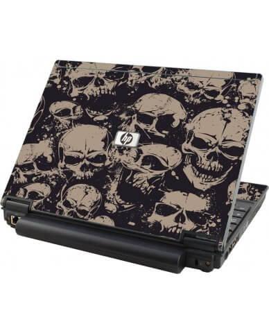 Grunge Skulls HP Compaq 2510P Laptop Skin