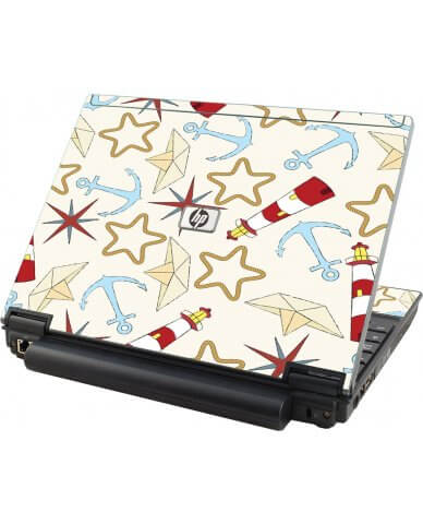 Nautical Lighthouse HP Compaq 2510P Laptop Skin