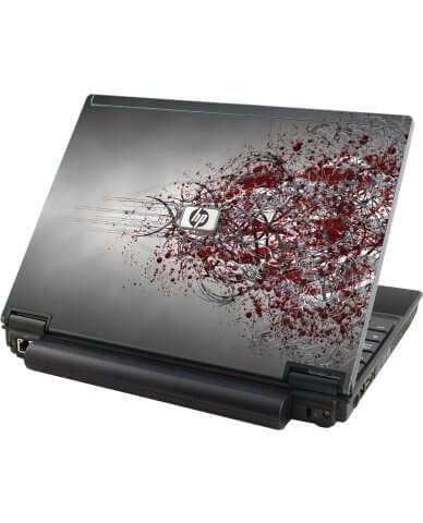Tribal Grunge HP Compaq 2510P Laptop Skin