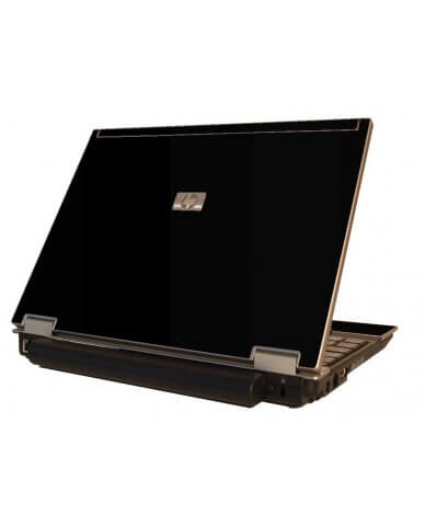 Black HP Elitebook 2530P Laptop Skin