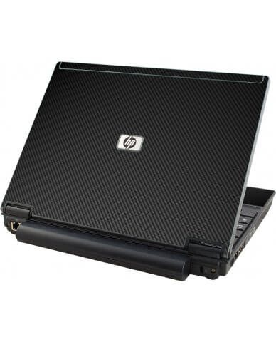 Black Carbon Fiber HP Elitebook 2530P Laptop Skin