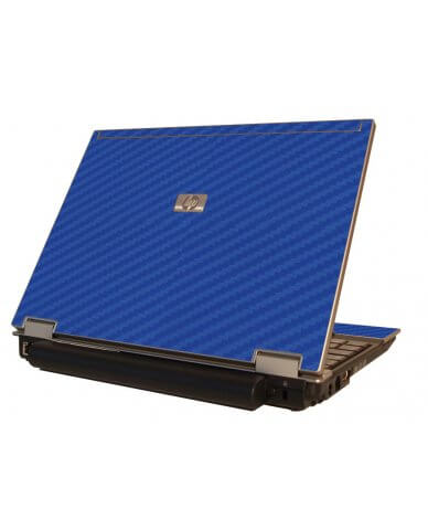 Blue Carbon Fiber  HP Elitebook 2530P Laptop Skin
