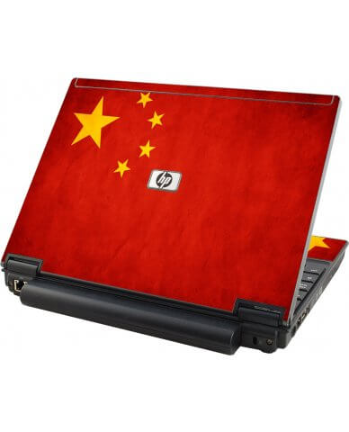 Flag Of China HP Elitebook 2530P Laptop Skin