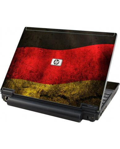 German Flag HP Elitebook 2530P Laptop Skin