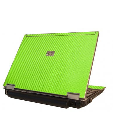 Green Carbon Fiber HP Elitebook 2530P Laptop Skin