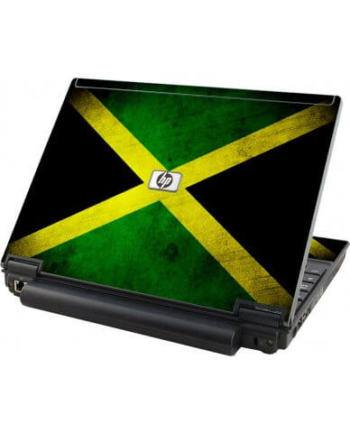 Jamaican Flag HP Elitebook 2530P Laptop Skin