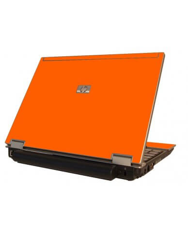 Orange HP Elitebook 2530P Laptop Skin