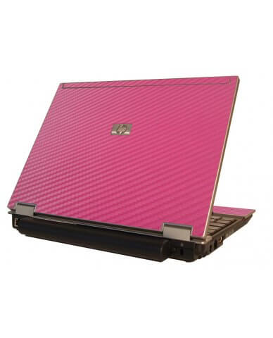 Pink Carbon Fiber HP Elitebook 2530P Laptop Skin