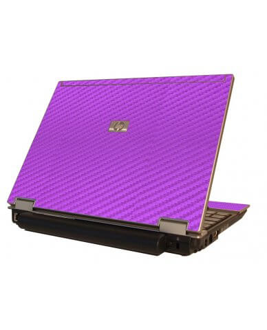 Purple Carbon Fiber HP Elitebook 2530P Laptop Skin