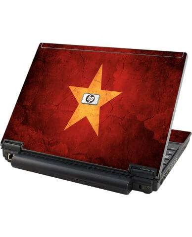 Vietnam Flag HP Elitebook 2530P Laptop Skin