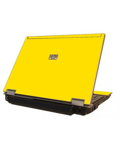 Yellow HP Elitebook 2530P Laptop Skin