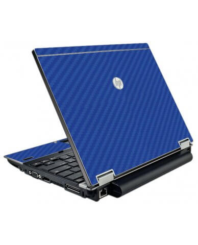 Blue Carbon Fiber  HP Elitebook 2540P Laptop Skin