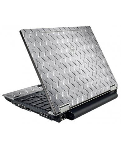 Diamond Plate HP Elitebook 2540P Laptop Skin
