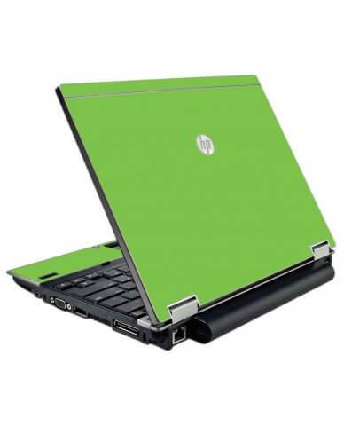 Green HP Elitebook 2540P Laptop Skin