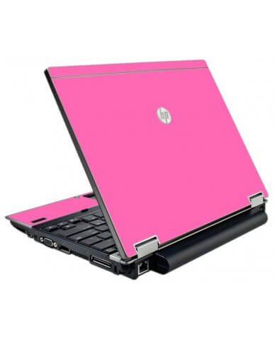 Pink HP Elitebook 2540P Laptop Skin