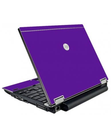 Purple HP Elitebook 2540P Laptop Skin