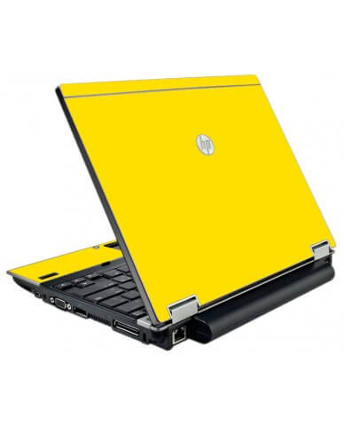 Yellow HP Elitebook 2540P Laptop Skin