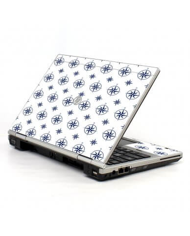Nautical HP EliteBook 2560P Laptop Skin