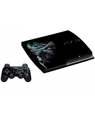 ZOMBIE HANDS PLAYSTATION 3 GAME CONSOLE SKIN