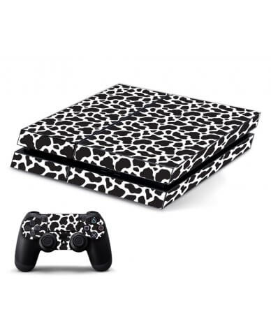 BLACK GIRAFFE PLAYSTATION 4 GAME CONSOLE SKIN