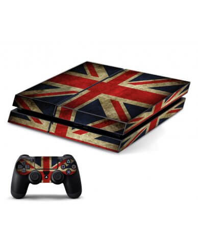 BRITISH FLAG PLAYSTATION 4 GAME CONSOLE SKIN