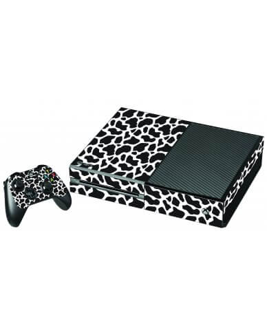 BLACK GIRAFFE XBOX ONE GAME CONSOLE SKIN