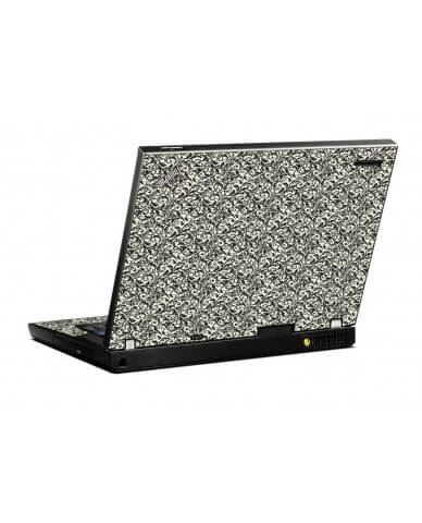 Black Versailles IBM R500 Laptop Skin