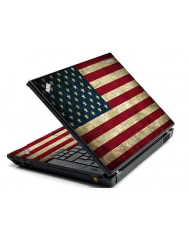 American Flag IBM Sl400 Laptop Skin