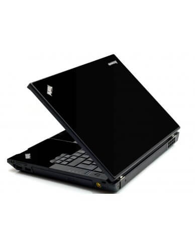 Black IBM Sl400 Laptop Skin
