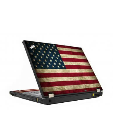 American Flag IBM T410 Laptop Skin