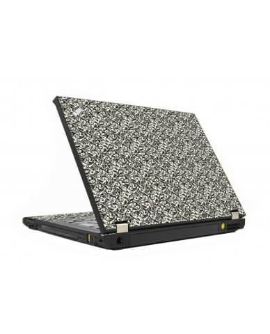 Black Versailles IBM T410 Laptop Skin