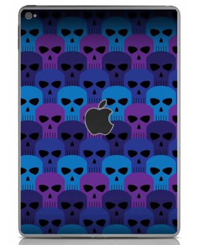 BLUE SKULLS Apple iPad Air 2 A1566 SKIN