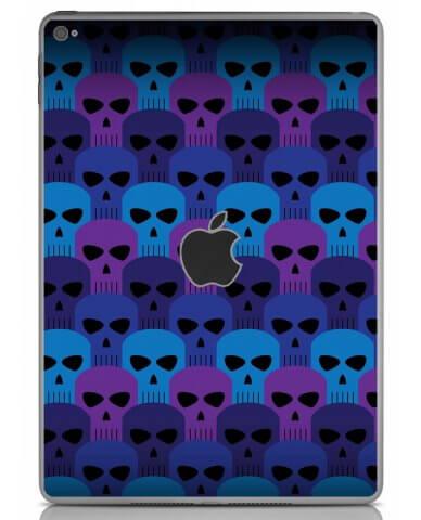 BLUE SKULLS Apple iPad Air 2 A1566 SKIN